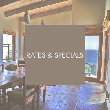 Rates & Specials
